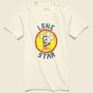 Imogene and Willie Lone Star Skull Cowboy T-Shirt
